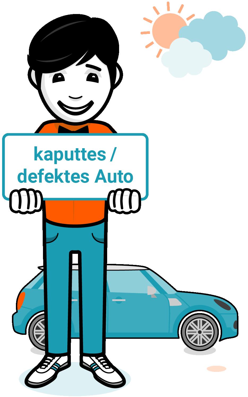 Autosmitherz Autoankauf Autoverkauf kaputtes defektes Auto