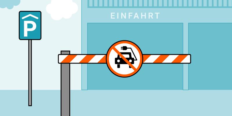 Elektroautos zu gefährlich für Parkhäuser?